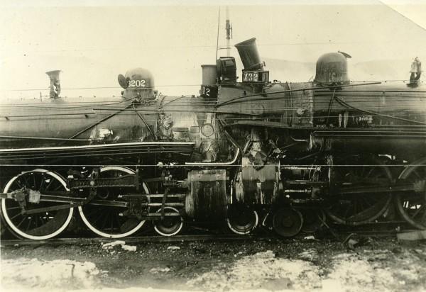 Vieux train - le chemin de fer a participé à la propagation du sida